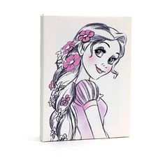 Disneyland Paris Rapunzel Canvas