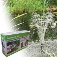 This power can be used when you require it as the bright, white LED lights illuminate your fountain automatically at dusk. For best results, place solar panel in direct sunlight. Solar powered Fountain or Feature Pump with Battery Back up and LED. Water Fountain Pumps, Pond Pumps, Solar Panel Cost, Solar Panels For Home, Home Fountain, Fountain Ideas, Solar Water Pump, Diy Solar, Water Features