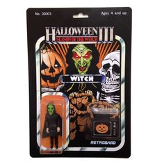 SEASON OF THE WITCH Halloween III 3 - WITCH Custom Action Figure