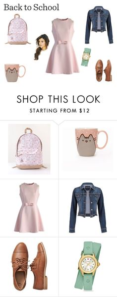 """""""#PVxPusheen"""" by realitybytes85 ❤ liked on Polyvore featuring Pusheen, Chicwish, maurices, Gap, Michele, contestentry and PVxPusheen"""