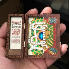 scale Jumanji boards are back! Click the link in my bio for more info. Clay Crafts, Fun Crafts, Diy And Crafts, Arts And Crafts, Projekt Mc2, Cool Gadgets To Buy, Miniature Crafts, Mini Things, Little Doll