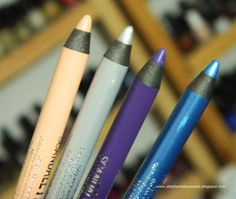 NEW Rimmel Scandal Eyes Waterproof Kohl Kajal Eyeliners in Nude, Silver, Purple, & Turquoise Review & Swatches  http://stephanielouiseatb.blogspot.com/2013/02/new-rimmel-scandal-eyes-waterproof-kohl.html