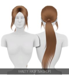 VANITY HAIR (MASHUP) - PATREON EXCLUSIVE ♥ Get it here ♥ WOW! So amazing hair! (^0^)7