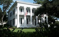Located in Austin, Texas is the fourth oldest executive residence in the U.S. This beautiful mansion was built in 1854 and has been continuously inhabited by Texas governors since 1856. The Texas Governor's Mansion was
