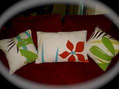 Other side of DIY throw pillows Diy Throws, Diy Throw Pillows, Bed Pillows, Pillow Cases, Crafty, Interior Design, Ideas, Pillows, Nest Design