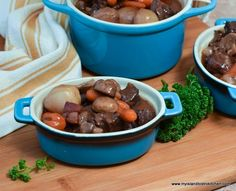 How to Make Bistro Style Beef Bourguignon