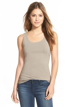 NIC+ZOE 'Perfect' Tank (Regular & Petite) available at #Nordstrom