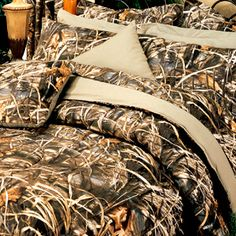Camo Bed layout