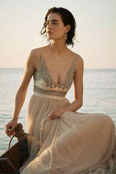 BHLDN Brisa Dress in  Bride Reception & Rehearsal Dresses | BHLDN
