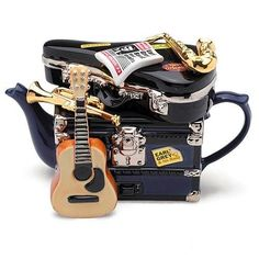 Covers my fondness for unique teapots and music! And Austin is the Live Music Capital! I so want this!