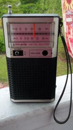 gran prix am/fm receiver. Made in the Philippines