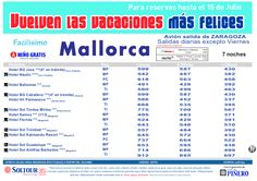 Mallorca - Las vacaciones mas felices sep-oct. Hoteles en Mallorca salidas desde Zaragoza - http://zocotours.com/mallorca-las-vacaciones-mas-felices-sep-oct-hoteles-en-mallorca-salidas-desde-zaragoza/