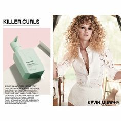 Introducing, Kevin Murphy's KILLER.CURLS 👊🏼 Moisture, Flexibility and an Anti-Frizz serum? Sign us up! #CurlyGirls #ShirlyTemple