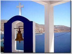 bell tower @ #Kalymnos #Greece #travel #ttot #travelling2GR #visitGReece #trueGreece #come2GReece #summer2GReece  PHOTO via: Holger http://www.flickr.com/photos/thirau/2556097778/ — at Kalymnos.