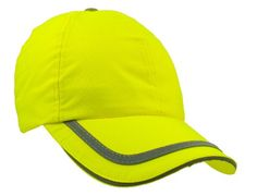 "Adjustable Tradesman Neon Outdoor Work Hat- 12 Yellow, Wholesale Material: 100% Fluorescent Polyester. Crown Circumference: 23.6"". Bill Size: 2.75"". Style: Water resistant, lightly structured 6-panel construction, mid-profile, Velcro closure, reflective taping in sandwich, on top of bill, back of crown and on Velcro closure.. Color: Orange, Orange/Black, Yellow/Black, Yellow."