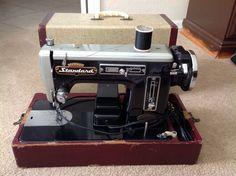 Vintage Standard Trade Mark Deluxe Super ZigZag Sewing Machine