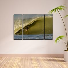 <li>Artist: Nicola Lugo</li> <li>Title: Surf</li> <li>Product type: Gallery Wrapped Canvas</li>