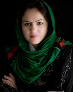 Fawzia Koofi is the first woman to ever become the Second Deputy Speaker of Parliament in the history of Afghanistan. Badass Women, Fierce Women, Strong Women, Extraordinary People, Amazing People, Woman Smile, People Change, Girls Club, Letters