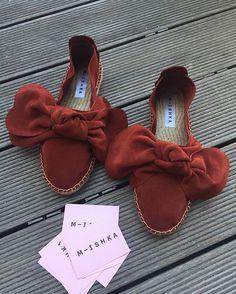 Sangria #mishkaespadrilles #handmade #suede #jutesole #bow #sangria