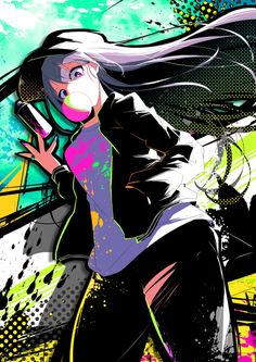 Japanese Illustrator BerryVerrine Dazzles With Awesome Retrowave Kawaii Art Kawaii Anime Girl, Anime Art Girl, Manga Art, Manga Anime, Arte Do Kawaii, Kawaii Art, Different Art Styles, Illustration, Animes Wallpapers