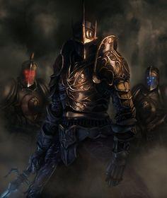Demons Souls - Penetrator (revised/reup)by PatrickGaumond High Fantasy, Dark Fantasy Art, Fantasy Character Design, Character Art, Saga Art, Dark Souls Art, Armadura Medieval, Knight Art, Shadow Warrior