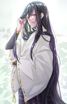 Browse more than 56 Touken Ranbu pictures which was collected by Phùng Tâm, and make your own Anime album. Anime Oc, Chica Anime Manga, Manga Boy, Hot Anime Boy, Cute Anime Guys, Touken Ranbu, Anime Guy Long Hair, Style Kimono, Handsome Anime Guys