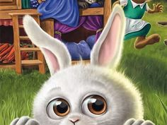 Good Night, Bunnies, Animals, Game Pieces, Board Games, Pretend Play, Rabbits, Kawaii, Nighty Night