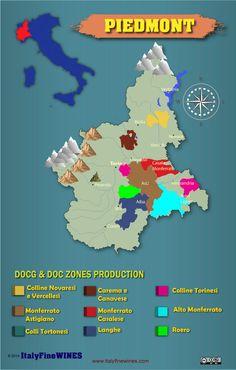piedmont wine #Wine #Wineeducation #Italy