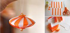 Simple DIY: Ribbon & Bead Christmas Tree Ornament | HGTV Decor
