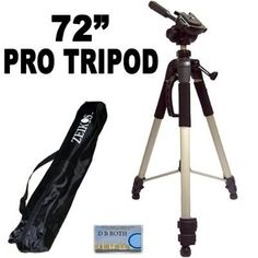 Introducing Professional PRO 72 Super Strong Tripod With Deluxe Soft Carrying CaseFor The Canon VIXIA HF M31 HF M30 HF M300 Flash Memory Camcorder. Great product and follow us for more updates!