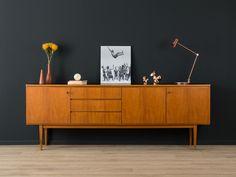 1960er Sideboard, 50er, 60er, Vintage, Teak von MID CENTURY FRIENDS auf DaWanda.com