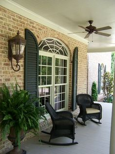 Brick Front Porch Design Ideas, Pictures, Remodel, and Decor - page 7