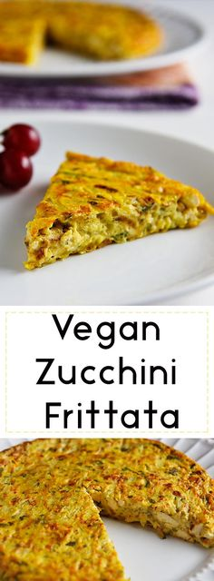 This flavorful vegan frittata combines the texture of scrambled tofu--a little bit browned and crumbly--with the cohesiveness of an omelet. Gluten-free and oil-free.