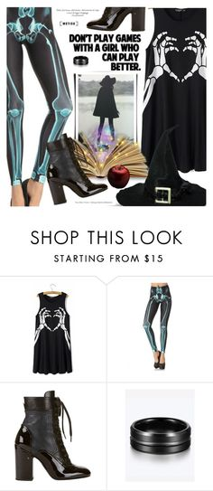 """""""Halloween"""" by metisu-fashion ❤ liked on Polyvore featuring Laurence Dacade, polyvoreeditorial, polyvoreset and metisu"""