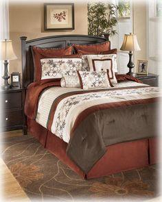 Ashley Mirabel Multi Queen Bedding Set