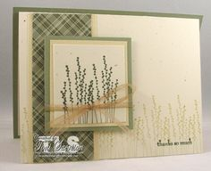 Eucalyptus Thanks by T.Sacrison - Cards and Paper Crafts at Splitcoaststampers