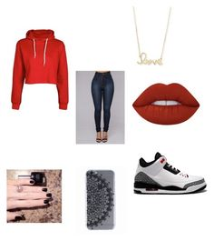 """Untitled #103"" by adventure-awaits-me on Polyvore featuring NIKE, Sydney Evan and Lime Crime"
