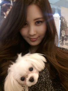 Seohyun with Tofu