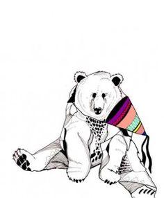 partybjørn af Maria Permin Berger