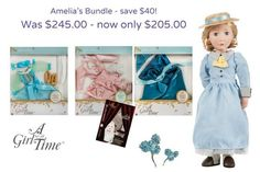 Meet Amelia your Victorian girl, now you can get her and all of her fabulous historic accessories in our special Christmas bundle offers.