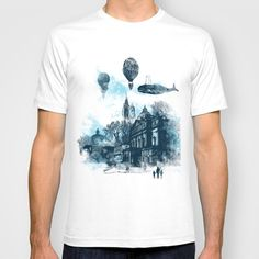 strange town T-shirt by frederic levy-hadida - $18.00