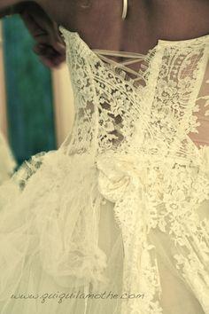 robe de mari e bustier transparent dentelle haute couture. Black Bedroom Furniture Sets. Home Design Ideas