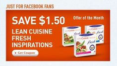 #Coupon - Save $1.50 on #Lean Cuisine