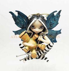 Jasmine-Griffith-Fantasy-Strangeling-Statue-Voodoo-Doll-Witch-Fairy-Figurine