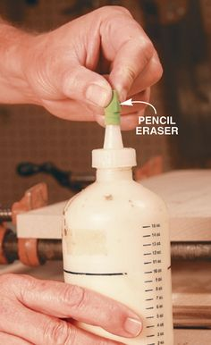 A Great Glue Bottle Tip - Woodworking Shop - American Woodworker
