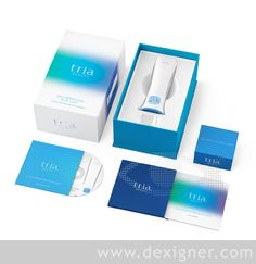 Pearlfisher Creates Brand Identity and Packaging for Tria Beauty - Dexigner