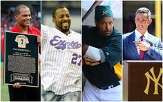 From left, Ivan Rodriguez, Vladimir Guerrero, and Jorge Posada will be the most notable first-timers on the 2017 Hall of Fame ballot.First look: Four notable first-timers to hit Hall of Fame ballot in 2017. 1/7/2016