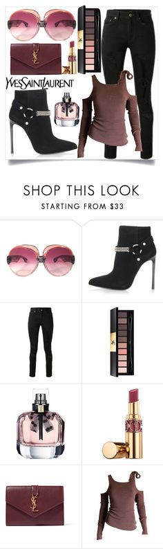 """YSL"" by perezbarrios on Polyvore featuring Yves Saint Laurent and Tom Ford"