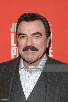 Actor Tom Selleck attends the 'Jess Stone: Lost In Paradise' New York Premiere at Roxy Hotel on October 14, 2015 in New York City.