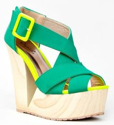 Qupid LUKE-18 Blonde Wood Platform Cut Out Wedge Heel Neon Accent Strappy Sandal - Price: 	$39.00 [ http://www.phashionique.com/qupid-luke-18-blonde-wood-platform-cut-out-wedge-heel-neon-accent-strappy-sandal-2/ ]
